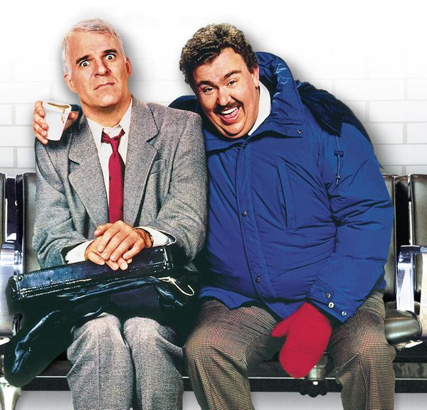 """<a href=""http://www.netflix.com/WiMovie/60003083"" target=""_blank"">Planes, Trains and Automobiles</a>"" is the quintessential"