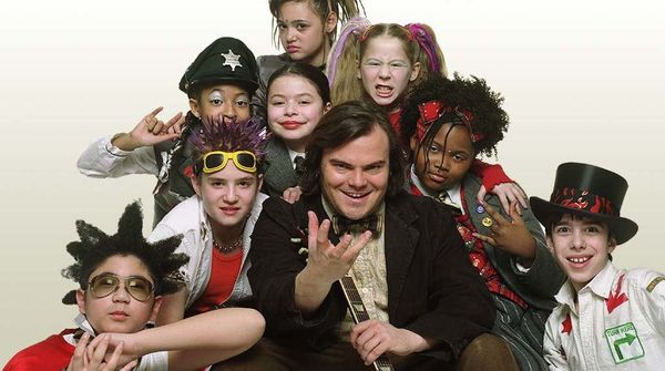 """<a href=""http://www.netflix.com/WiMovie/60031226"" target=""_blank"">School of Rock</a>,"" Richard Linklater's comedy and one of"