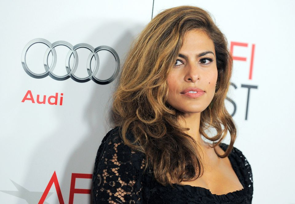 "FILE - This Nov. 3, 2012 file photo shows actress Eva Mendes at the ""Holy Motors"" special screening as part of AFI Fest in Lo"