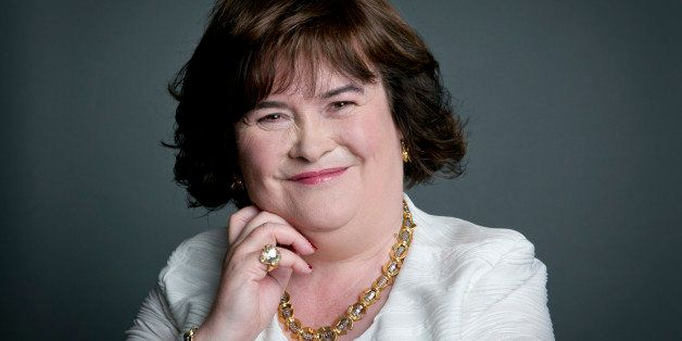 This June 24, 2014 photo shows Scottish singer Susan Boyle poses for a portrait in promotion of her upcoming US tour in New Y