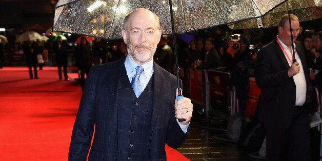 LONDON, ENGLAND - OCTOBER 15:  Actor JK Simmons attends the Accenture Gala premiere for 'Whiplash' during the 58th BFI London