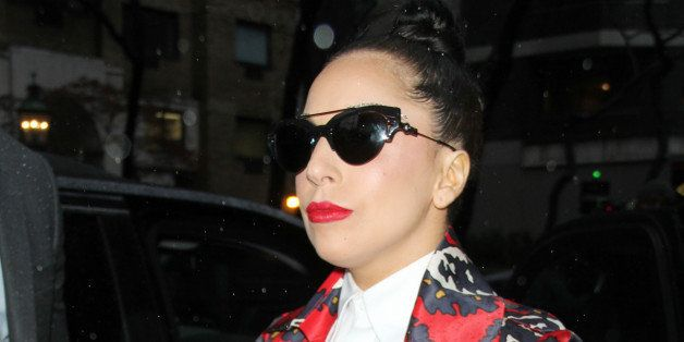 NEW YORK, NY - NOVEMBER 26: Lady Gaga pictured at The View in New York City on November 26, 2014. Credit: RW/MediaPunch/IPX