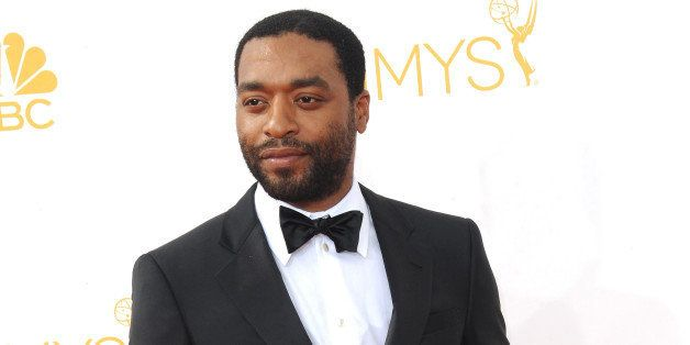 LOS ANGELES, CA - AUGUST 25:  Actor Chiwetel Ejiofor arrives for the 66th Annual Primetime Emmy Awards  held at Nokia Theatre
