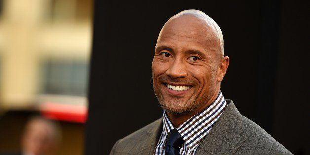 Actor Dwayne Johnson attends the premiere of 'Hercules,' July 23, 2014 at TCL Chinese Theatre in Hollywood, California.  AFP