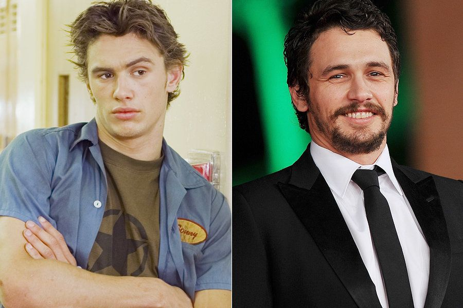 """Practically an unknown before his role on """"Freaks And Geeks,"""" Franco stole the show as Daniel, the jean jacket-toting, pot-sm"""