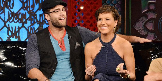 NEW YORK, NY - SEPTEMBER 25:  (EXCLUSIVE COVERAGE) TV personalities Chris 'CT' Tamburello and Diem Brown appear on MTV's 'The