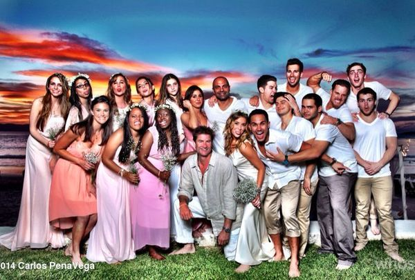 """The """"Spy Kids"""" star married Big Time Rush singer Pena Jr. in Cabo San Lucas, Mexico on Jan. 4, 2014."""