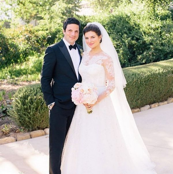 """The actress married the """"Happy Endings"""" creator in Ojai, California on May 25, 2014."""