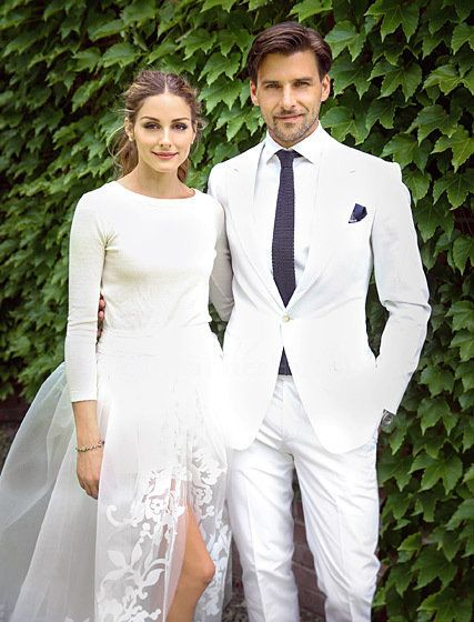 Palermo married Huebl on June 28, 2014 nuptials in Bedford, New York.