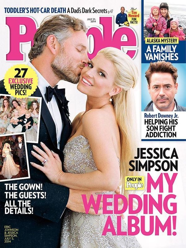 The longtime couple wed at the San Ysidro Ranch in Montecito, California on July 5, 2014.