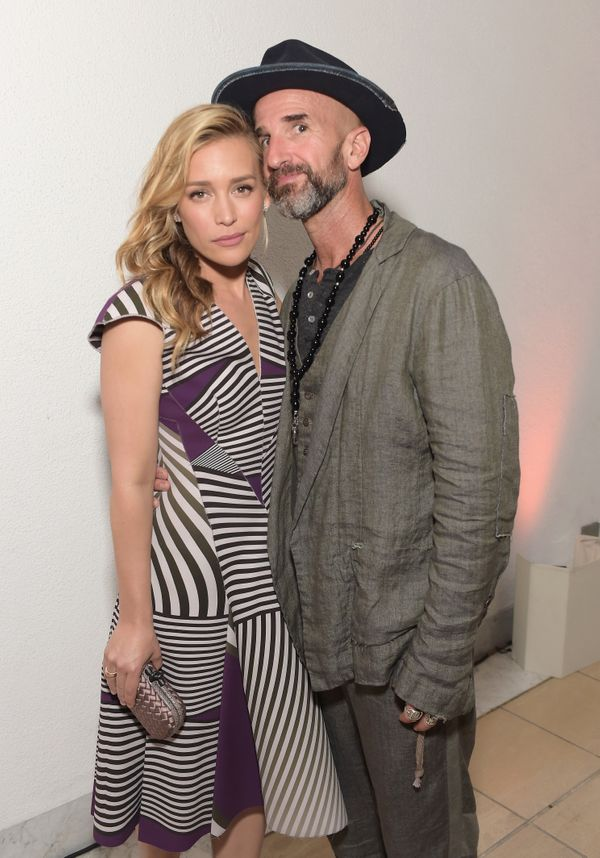 """The """"Cover Affairs"""" star married Kay on July 26, 2014 in NYC."""