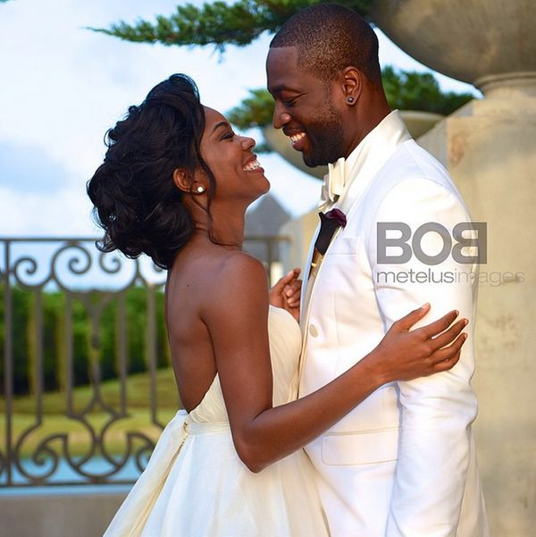 The longtime loves married on Aug. 30, 2014 in Miami, Florida.