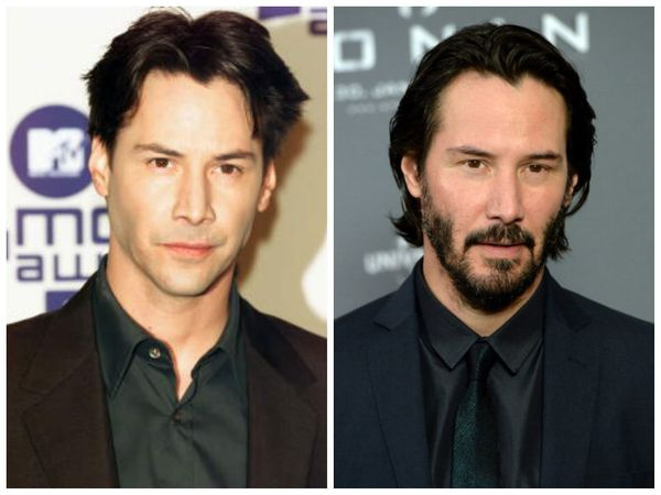 "Like his ""Speed"" co-star, Keanu hasn't aged a day since the days of the high-octane film that launched him to stardom. Yes, h"
