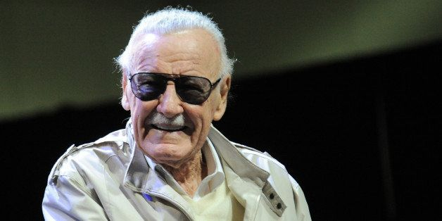 LOS ANGELES, CA - NOVEMBER 02:  Comic Book Icon Stan Lee onstage on Day 3 of the Third Annual Stan Lee's Comikaze Expo held a