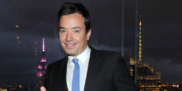 IMAGE DISTRIBUTED FOR TISHMAN SPEYER - The Tonight Show host Jimmy Fallon attends the opening of the historic Rainbow Room at