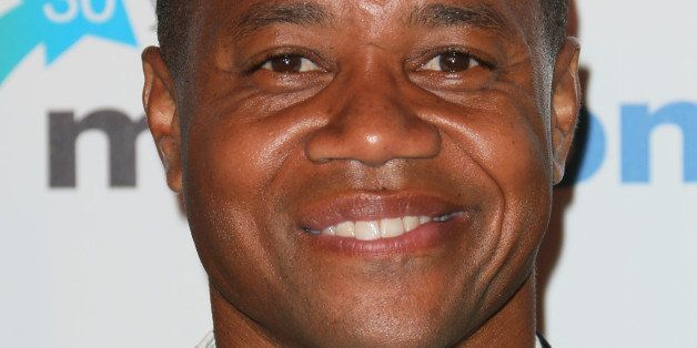 CANNES, FRANCE - OCTOBER 13:  Cuba Gooding Jr. arrives at the MIPCOM opening Party at Hotel Martinez on October 13, 2014 in C