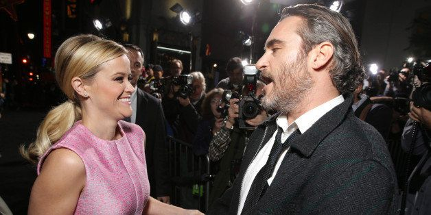 """Reese Witherspoon and Joaquin Phoenix seen at Warner Bros Pictures' Premiere of """"Inherent Vice"""" on Wednesday, Dec 10, 2014, i"""