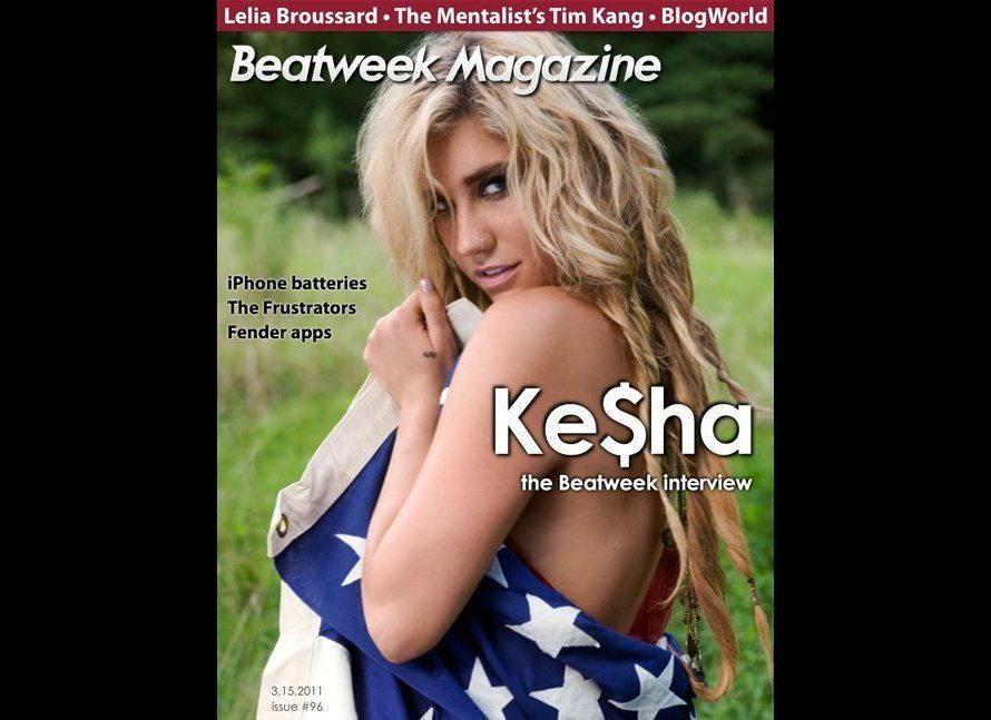 On the cover of Beatweek Magazine in 20011