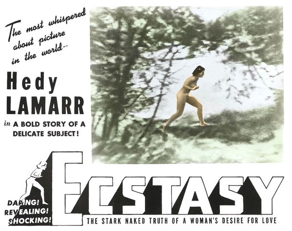 "Perhaps the first movie to depict intercourse, the Czech drama ""Ecstasy"" was <a href=""https://books.google.com/books?id=qrCCB"