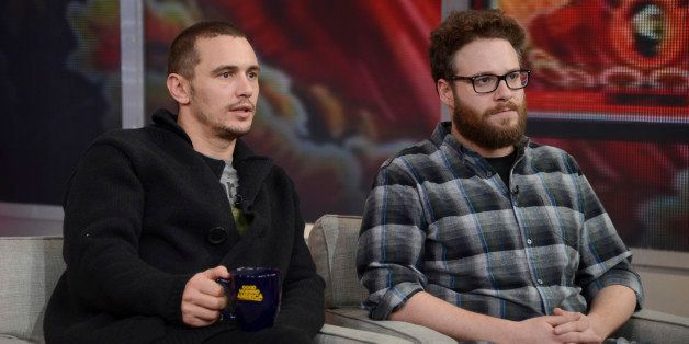 GOOD MORNING AMERICA - Seth Rogen and James Franco talk about their controversial action-comedy 'The Interview,' on GOOD MORN