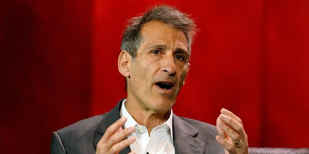 LAS VEGAS, NV - JANUARY 07:  Sony Pictures Entertainment Chairman and CEO Michael Lynton speaks during a keynote addres by So