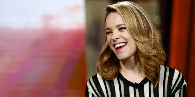 TODAY -- Pictured: Rachel McAdams appears on NBC News' 'Today' show -- (Photo by: Peter Kramer/NBC/NBC NewsWire via Getty Ima
