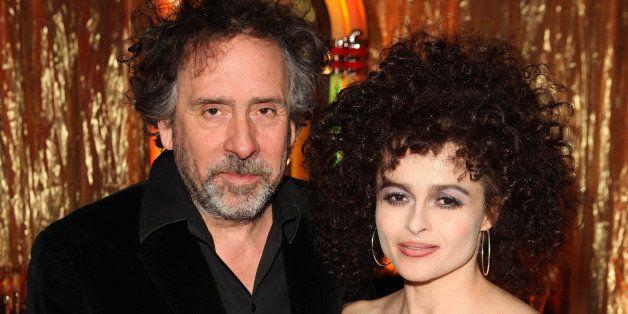 LONDON, UNITED KINGDOM - MARCH 20:  Director Tim Burton and actress Helena Bonham Carter attend 'A Night Of Funk & Soul 2013'