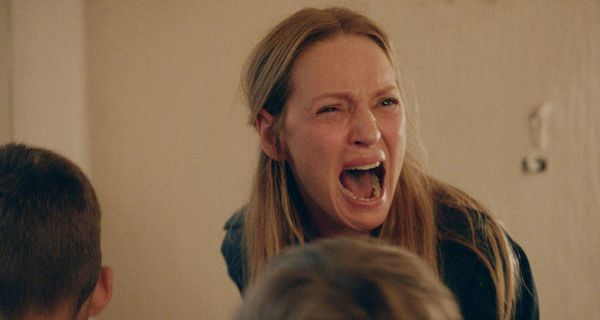 Hell hath no fury like Uma Thurman scorned -- and it only took eight minutes of Lars von Trier's two-part prurient spectacle