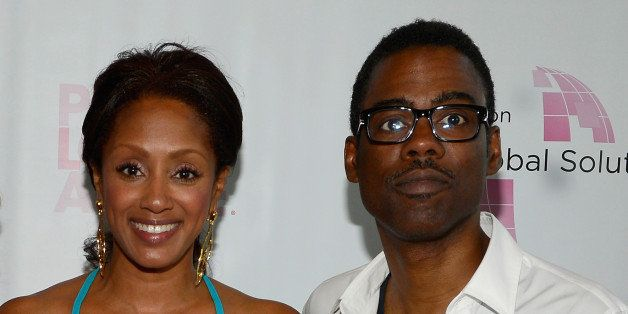 CRESSKILL, NJ - MAY 21:  (EXCLUSIVE COVERAGE) Malaak Compton-Rock and Chris Rock attend the 2013 Peace, Love & A Cure Triple