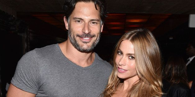EXCLUSIVE - Joe Manganiello, left, and Sofia Vergara attend a private event at Hyde Lounge during the Justin Timberlake conce