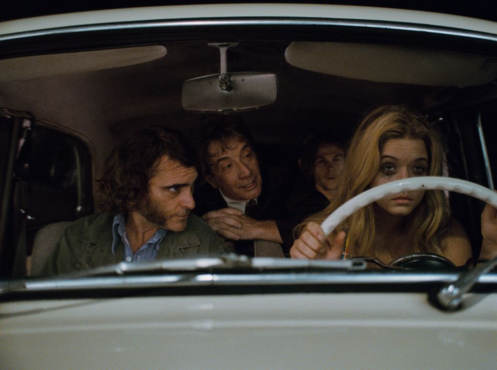 """There's probably an argument or two to be made for """"Inherent Vice"""" scoring a Best Picture nomination. It has a large, well-li"""