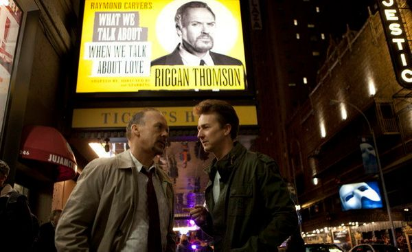 """Since """"Birdman"""" premiered at the Venice Film Festival in August, it has been pegged as a Best Picture nominee. Great reviews,"""