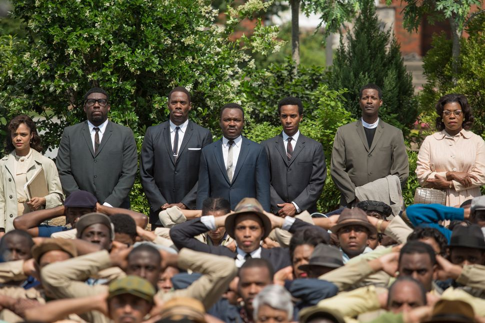 """""""Selma"""" is like staring into the mirror of a history textbook. The civil-rights crusade depicted in Ava DuVernay's stirring b"""