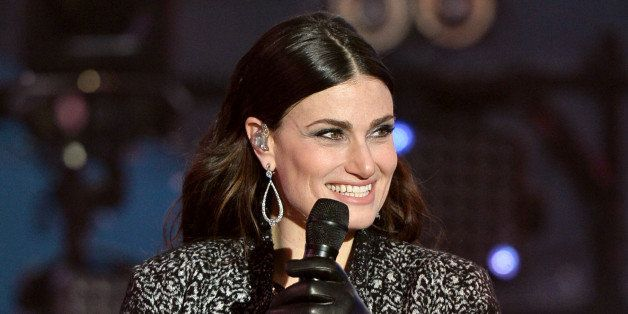 NEW YORK, NY - DECEMBER 31:  Idina Menzel performs during  Dick Clark's New Year's Rockin' Eve with Ryan Seacrest 2015 on Dec