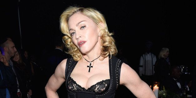 NEW YORK, NY - OCTOBER 30:  (Exclusive Coverage) Madonna attends Keep A Child Alive's 11th Annual Black Ball at Hammerstein B