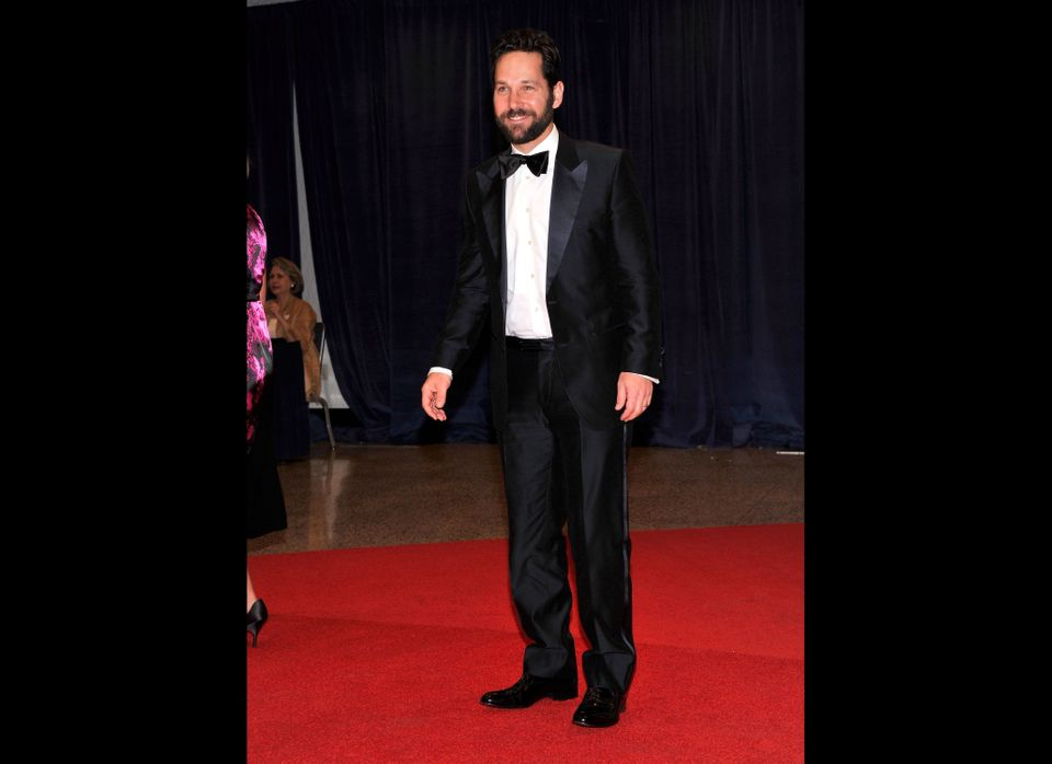 Paul Rudd at the 98th annual White House Correspondents' Association Dinner (Photo by Stephen Lovekin/Getty Images)