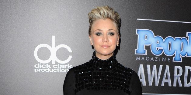 BEVERLY HILLS, CA - DECEMBER 18:  Actress Kaley Cuoco-Sweeting arrives at The PEOPLE Magazine Awards at The Beverly Hilton Ho