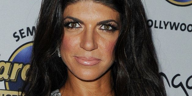 Teresa Giudice appears at Pangea Nightclub at the Seminole Hard Rock Hotel and Casino on Saturday, August 11, 2013 in Hollywo