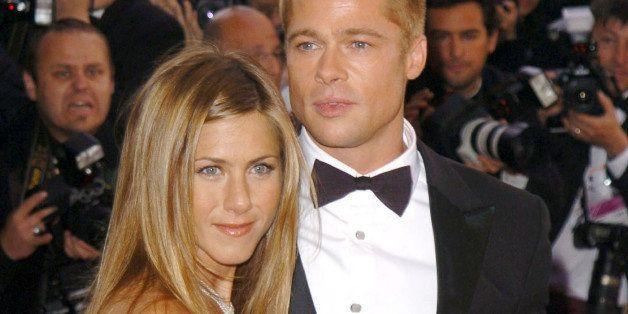Jennifer Aniston and Brad Pitt (Photo by George Pimentel/WireImage)