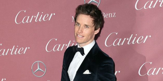 PALM SPRINGS, CA - JANUARY 03:  Actor Eddie Redmayne attends the 26th Annual Palm Springs International Film Festival Awards