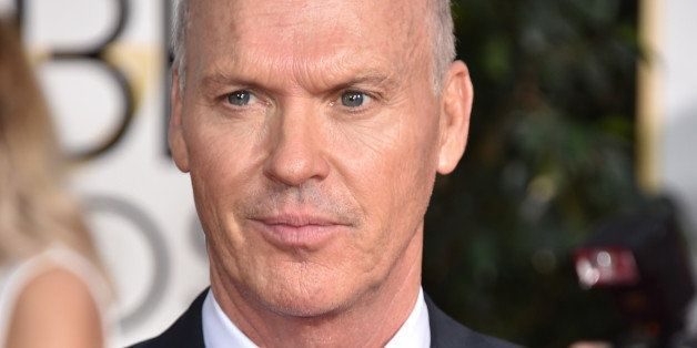Michael Keaton arrives at the 72nd annual Golden Globe Awards at the Beverly Hilton Hotel on Sunday, Jan. 11, 2015, in Beverl