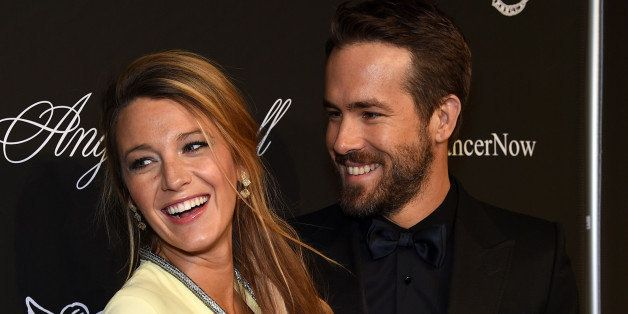 NEW YORK, NY - OCTOBER 20:  Actress Blake Lively (L) and Ryan Reynolds attend Angel Ball 2014 hosted by Gabrielle's Angel Fou