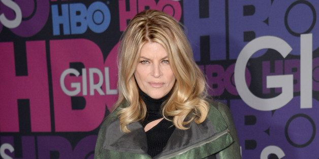 """Kirstie Alley attends the premiere of HBO's """"Girls"""" fourth season at The American Museum of Natural History on Monday, Jan. 5"""