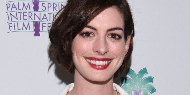 PALM SPRINGS, CA - JANUARY 04:  Actress Anne Hathaway attends a screening of 'Song One' at the 26th Annual Palm Springs Inter