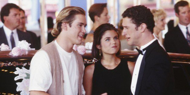 SAVED BY THE BELL: WEDDING IN LAS VEGAS -- Air Date 10/07/1994 -- Pictured: (l-r) Mark-Paul Gosselaar as Zack Morris, Tiffani
