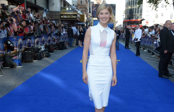 "<strong>2014:</strong> If you were paying close attention, you met Rosamund Pike when she played Miranda Frost in ""Die Anothe"