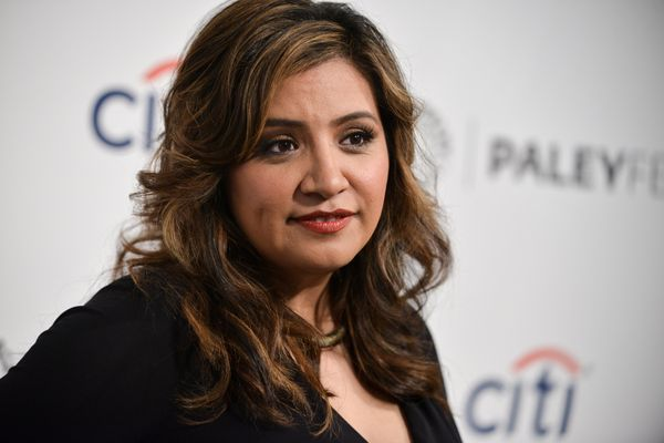 <strong>2014:</strong> Cristela Alonzo started in standup before becoming the first Latina woman to create, write and star in