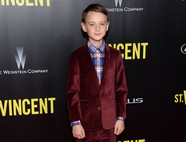 <strong>2014:</strong> Jaeden Lieberher had to share the screen with Melissa McCarthy and Bill Murray, yet he was still the b