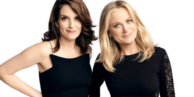 GOLDEN GLOBES -- 72nd Annual Golden Globe Awards -- Pictured: (l-r) Tina Fey, Amy Poehler -- (Photo by: Art Streiber/NBC/NBCU