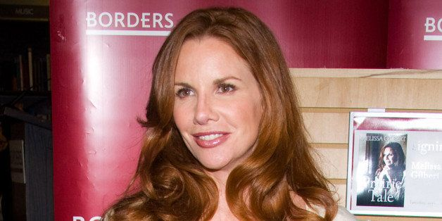 """FILE - In this June 9, 2009 file photo, actress Melissa Gilbert appears at Borders Books to promote her autobiography """"Prairi"""
